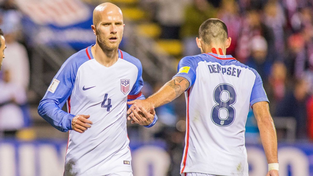 Michael Bradley and Clint Dempsey