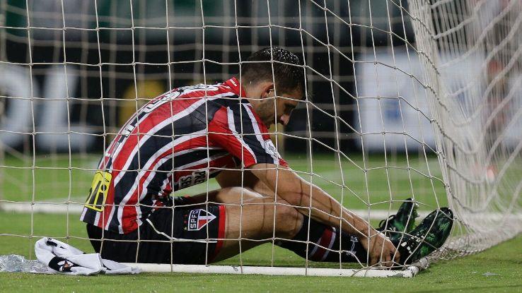 Sao Paulo woe vs Atletico 160713