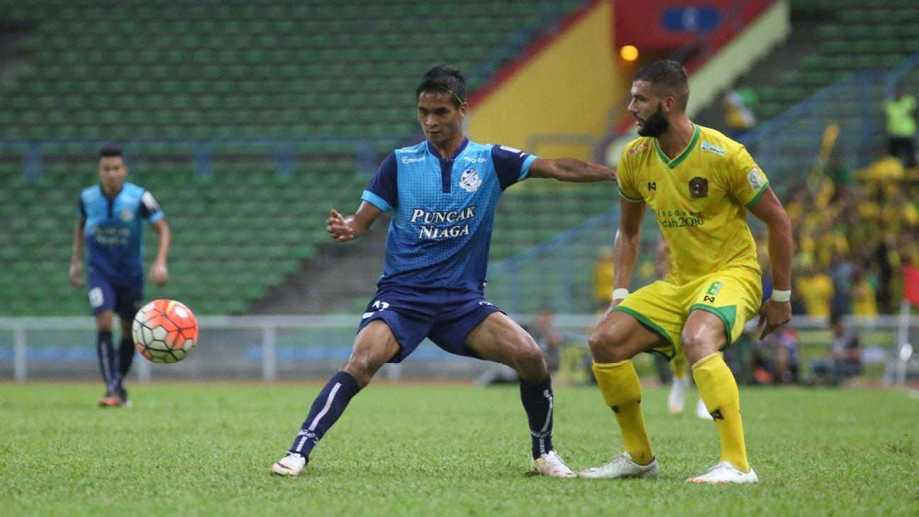 PDRM midfielder Safuwan Baharudin