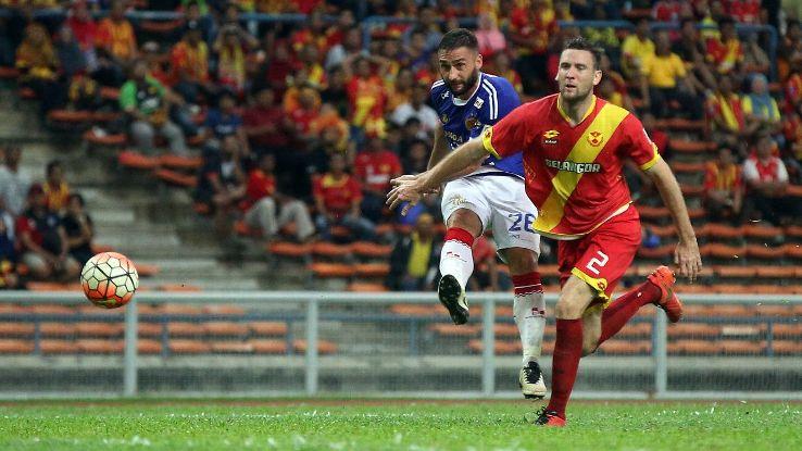 Selangor defender Robbie Cornthwaite