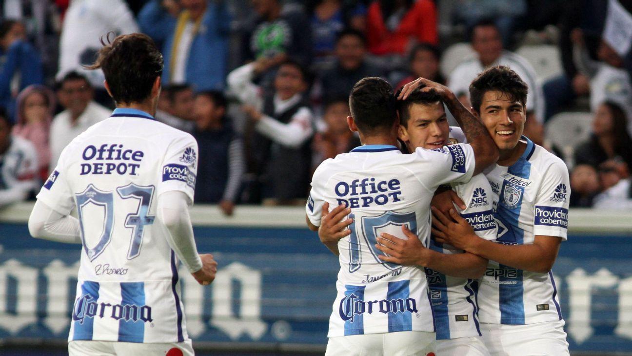 Pachuca celebrates
