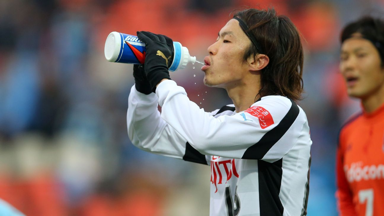 Japanese midfielder Jumpei Kusukami