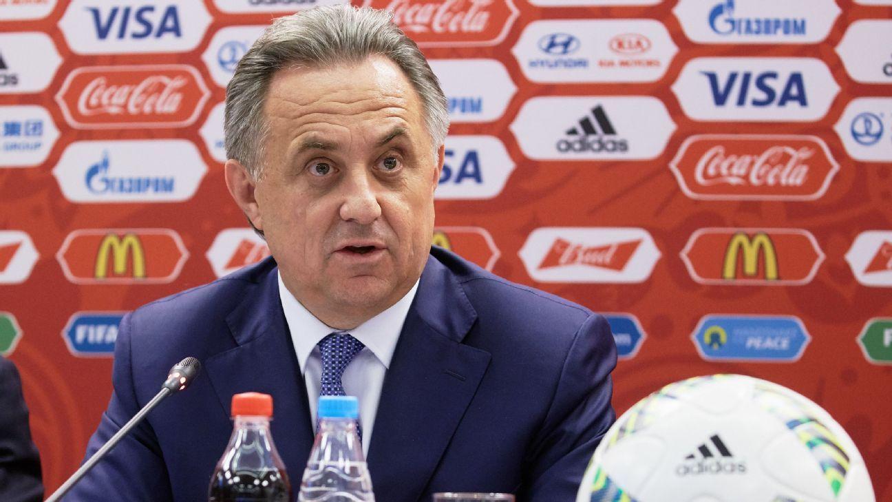 Vitaly Mutko, Russian Sports Minister