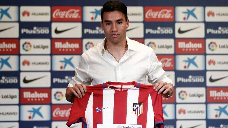 Atletico Madrid midfielder Nicolas Gaitan