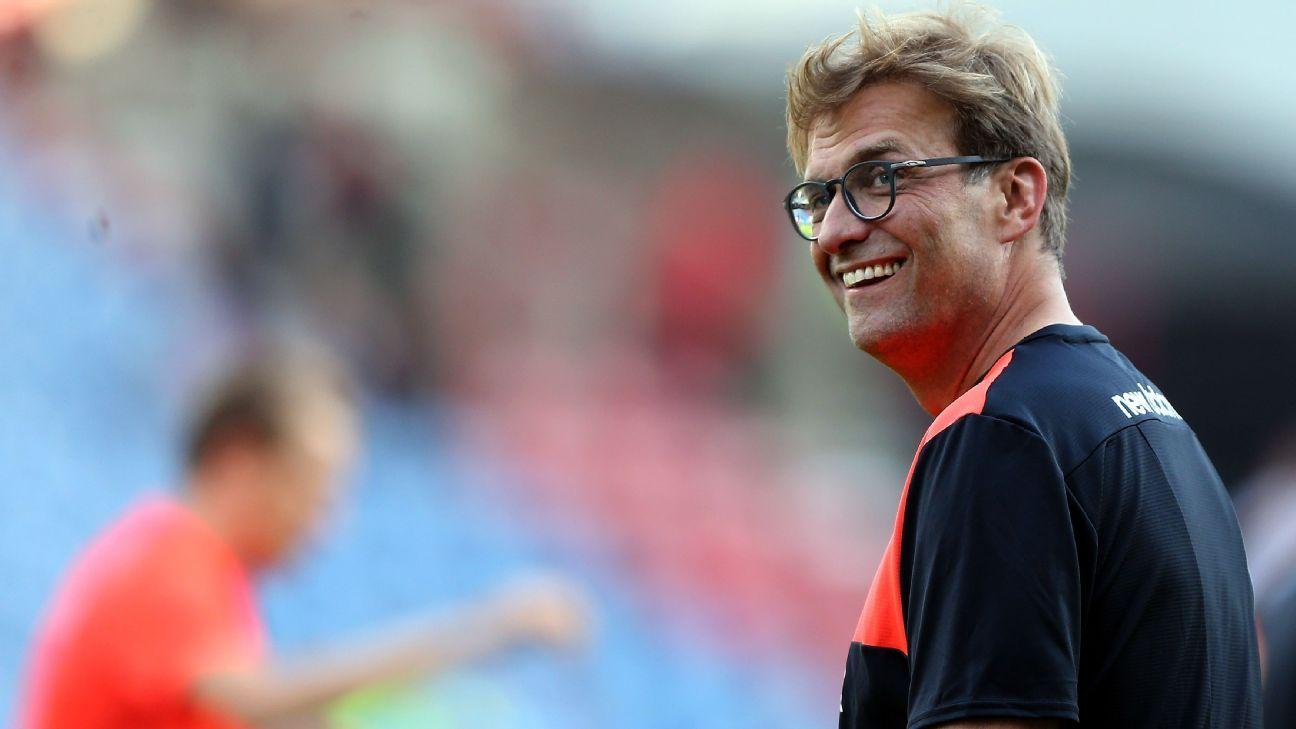 Jurgen Klopp Liverpool friendly vs Huddersfield Town