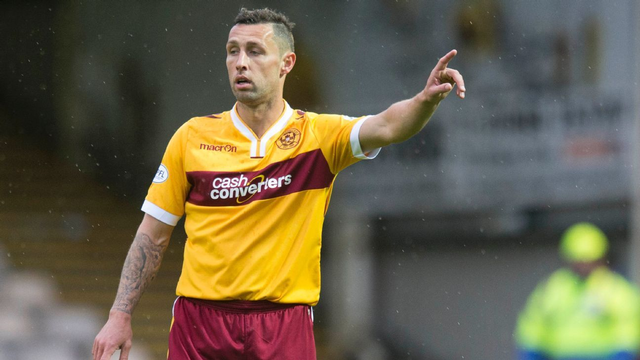 Motherwell striker Scott McDonald