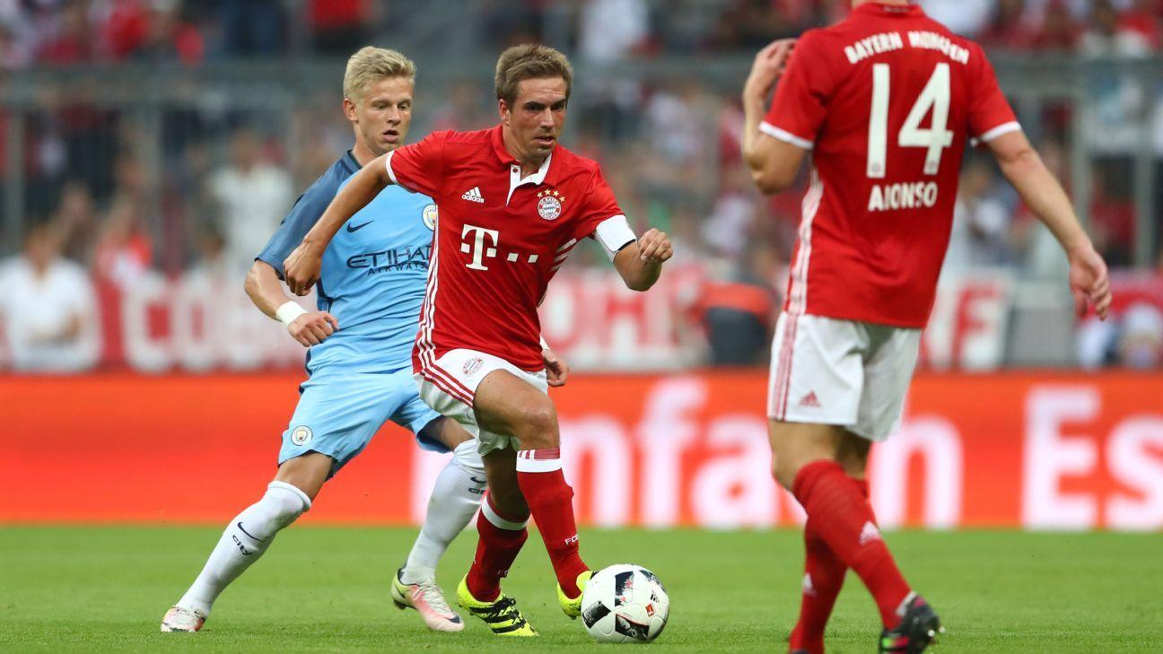 Bayern captain Philipp Lahm