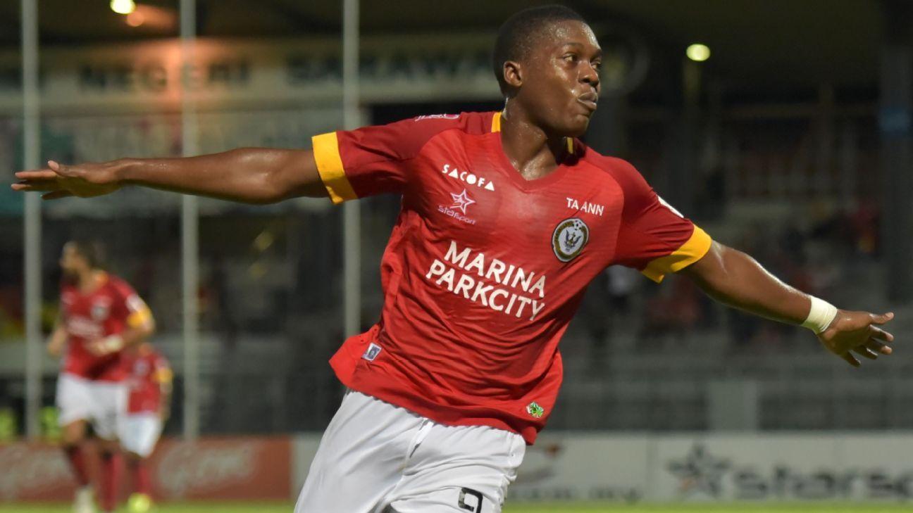 Sarawak striker Ndumba Makeche