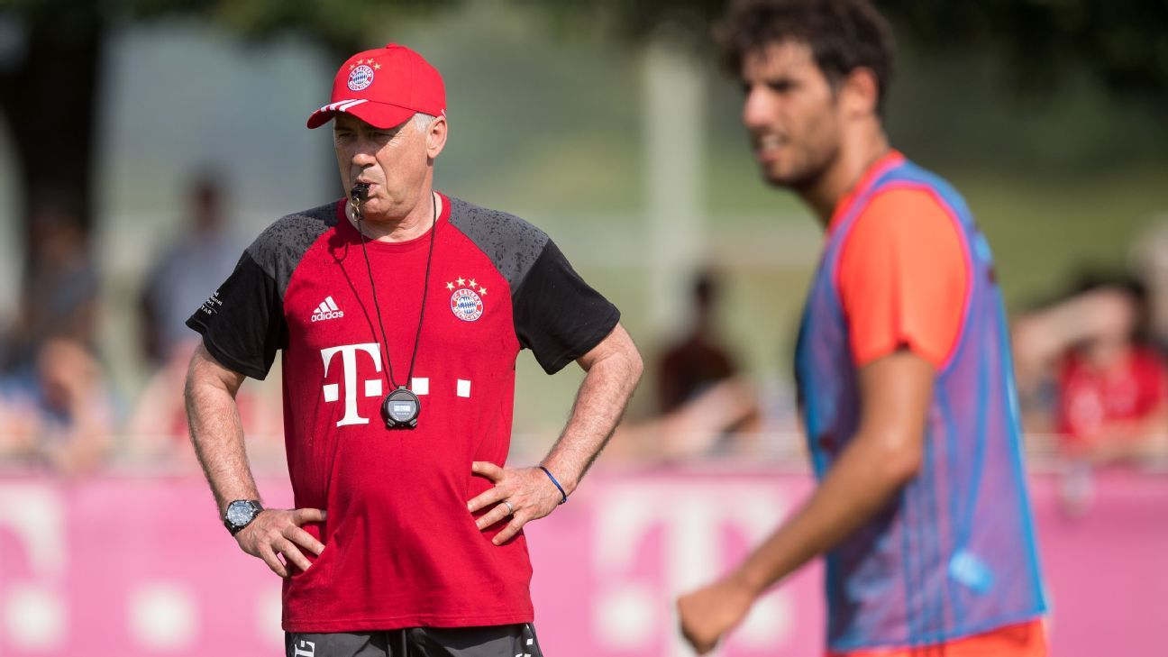Ancelotti and Javi Martinez
