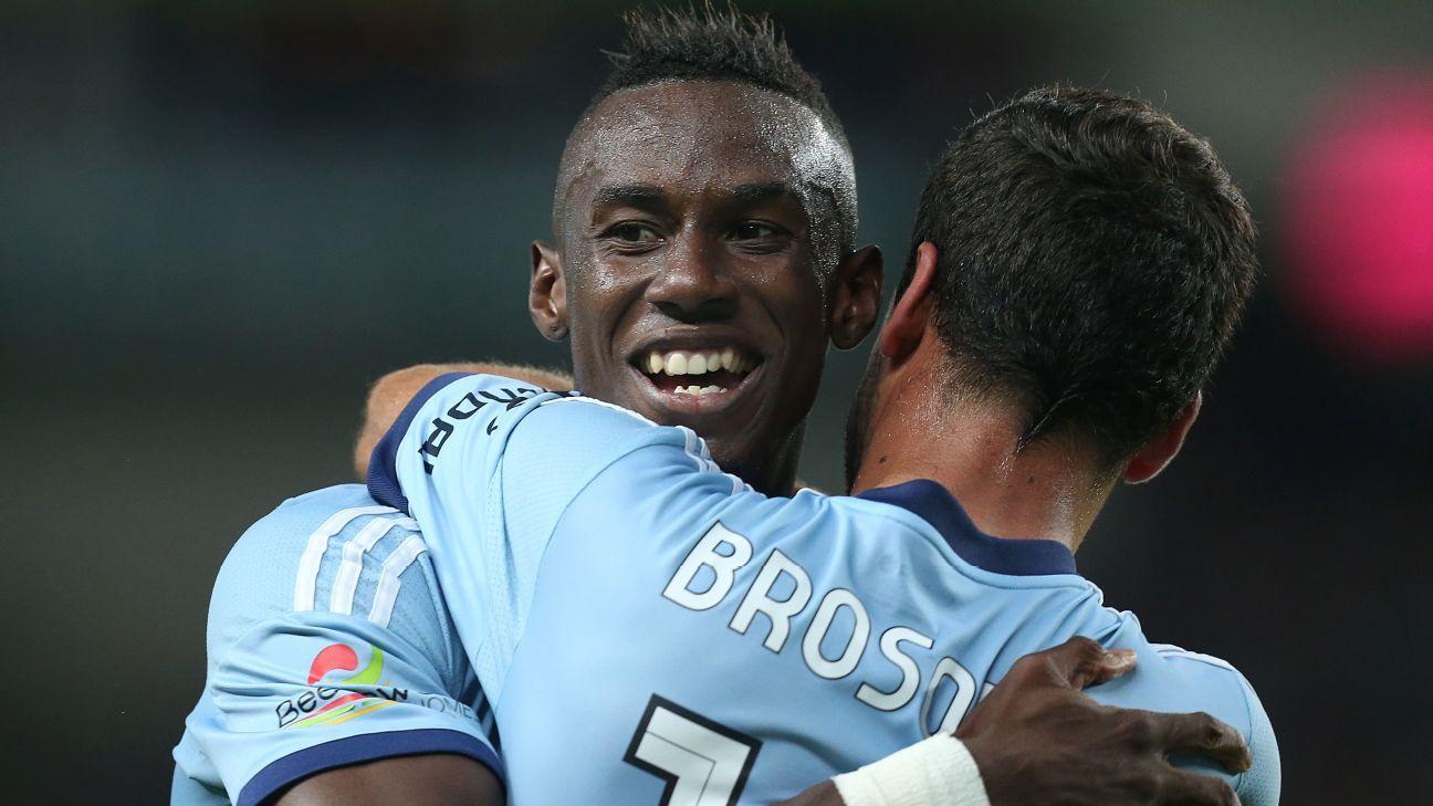 Sydney FC's Bernie Ibini