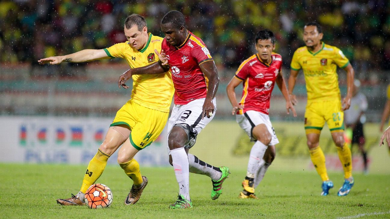 Kedah forward Shane Smeltz vs. T-Team in MSL, July 23 2016