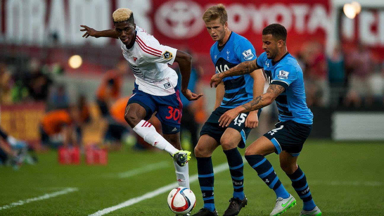 Gyasi Zardes v Tottenham MLS ASG 2015