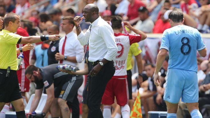 NYFC coach Patrick Vieira