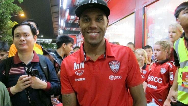 Muang Thong United striker Michael N'Dri