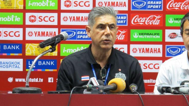 Buriram United coach Afshin Ghotbi