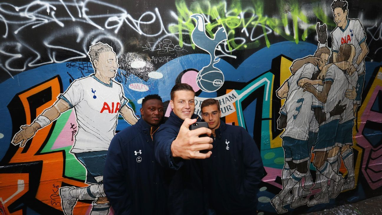Tottenham graffiti in Melbourne
