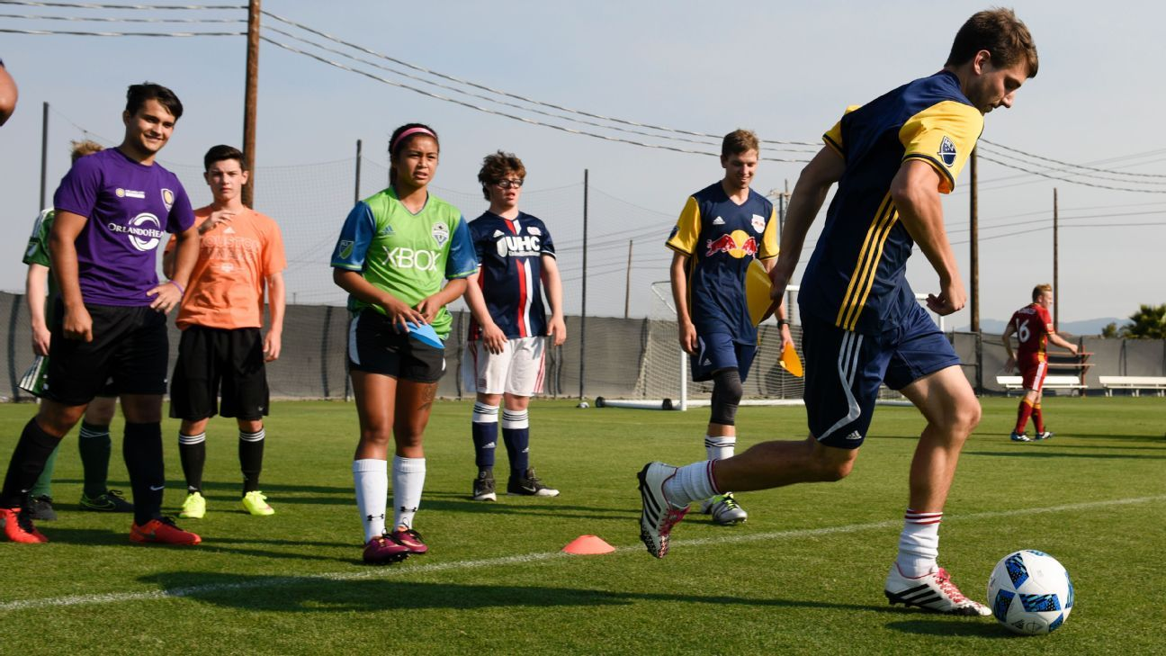 MLS Works Special Olympics Unified Sports All-Star Team