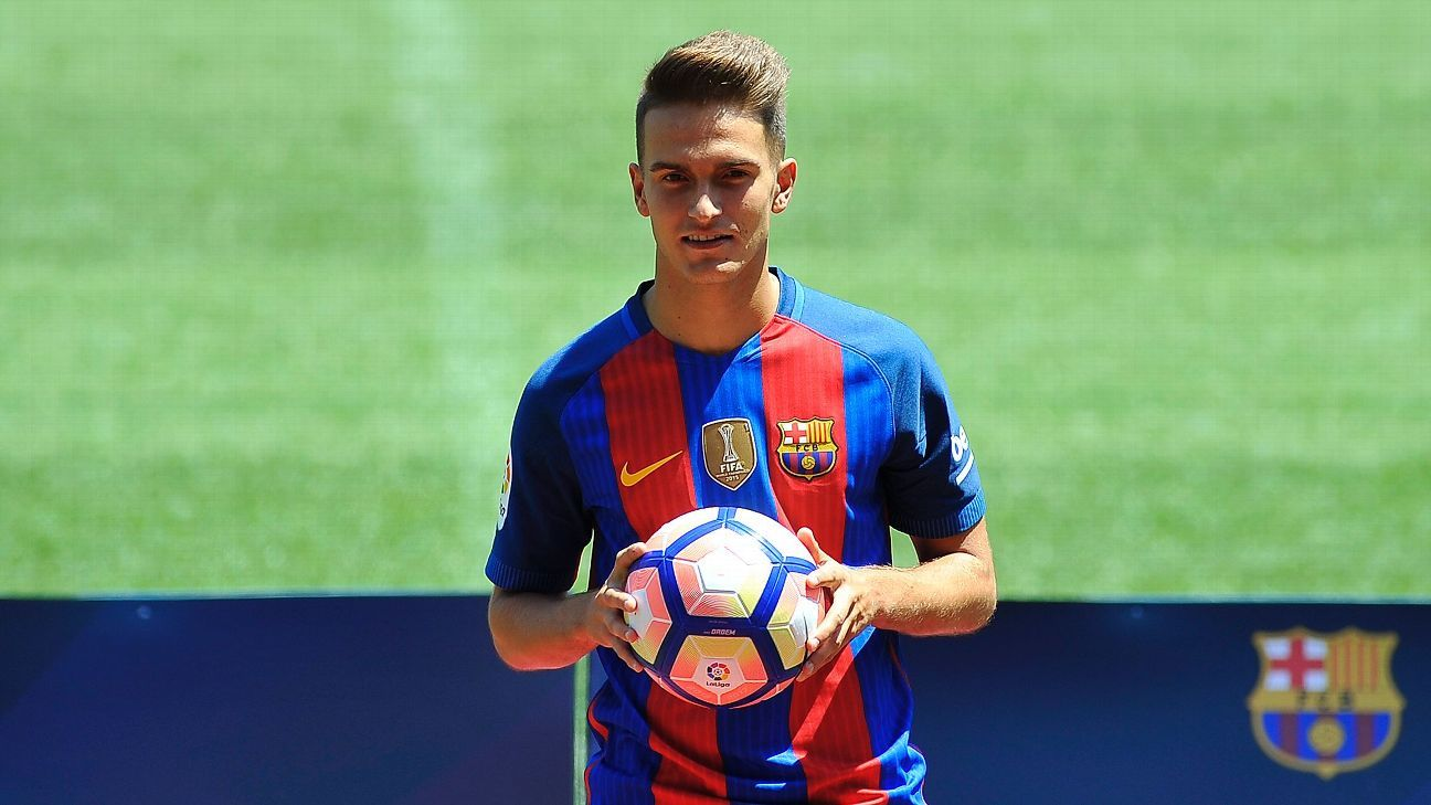 Barcelona forward Denis Suarez