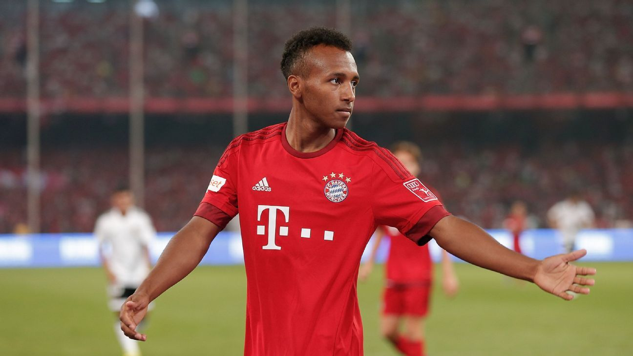 Bayern Munich forward Julian Green
