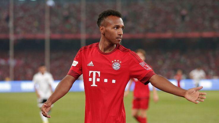 Bayern Munich forward Julian Green