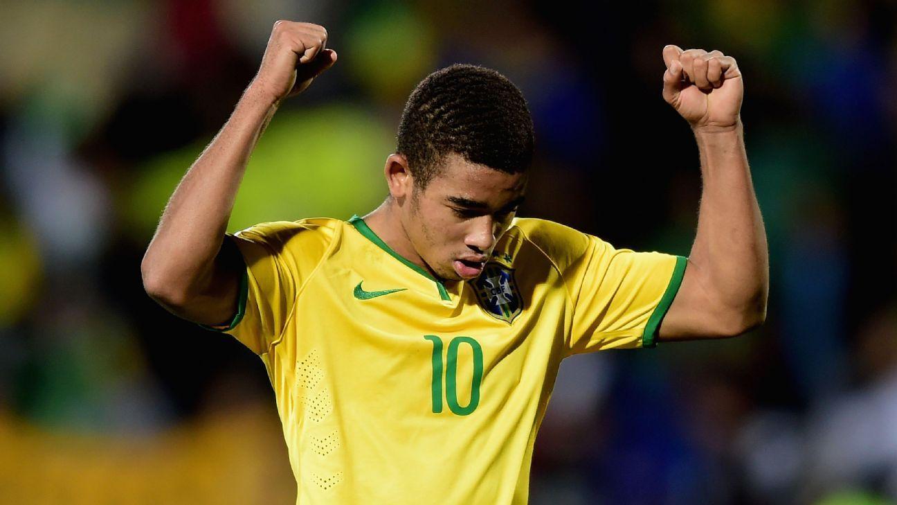 Brazil striker Gabriel Jesus