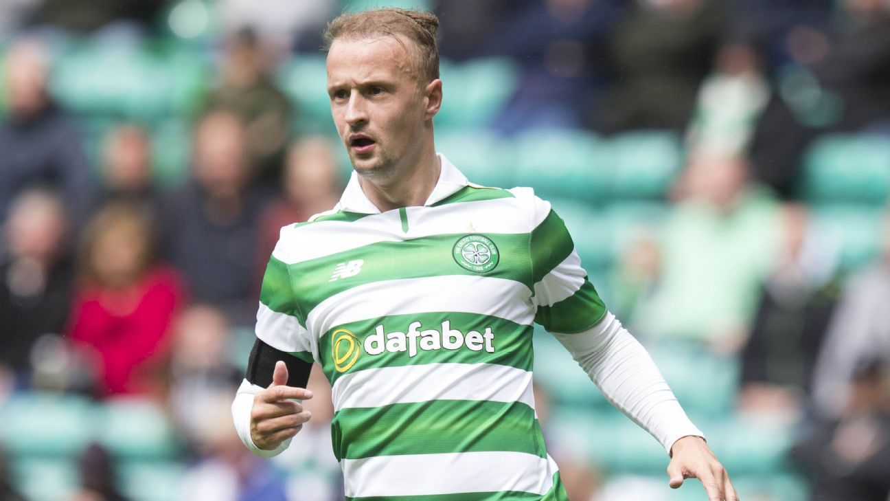 Leigh Griffiths scored Celtic's equaliser.