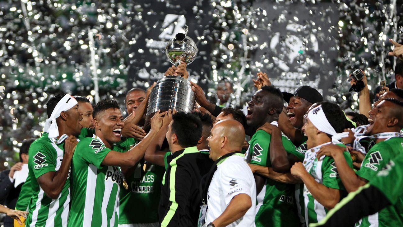 Atletico Nacional celebrate