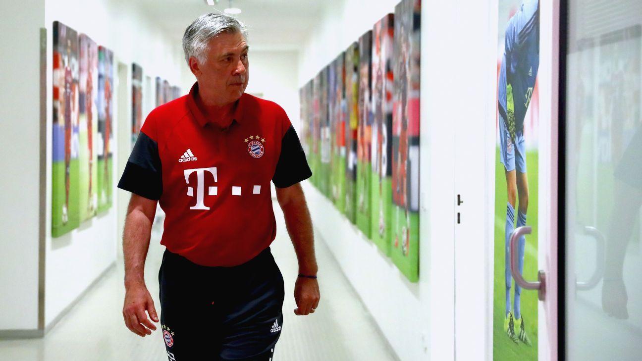 Bayern Munich manager Carlo Ancelotti