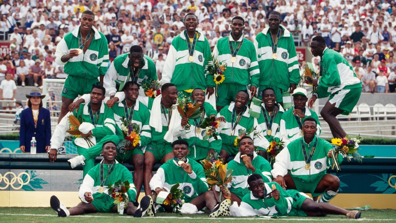nigeria s olympic football team travels to hoping to