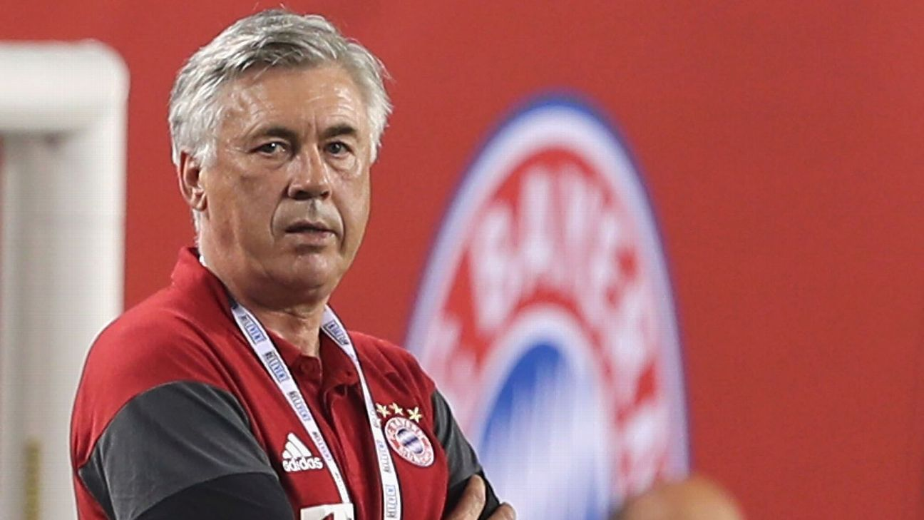 Image result for carlo ancelotti bayern munich
