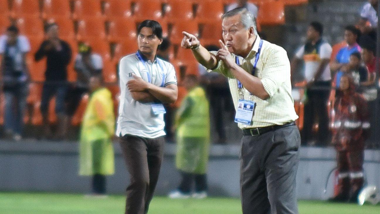Felda coach Irfan Bakti