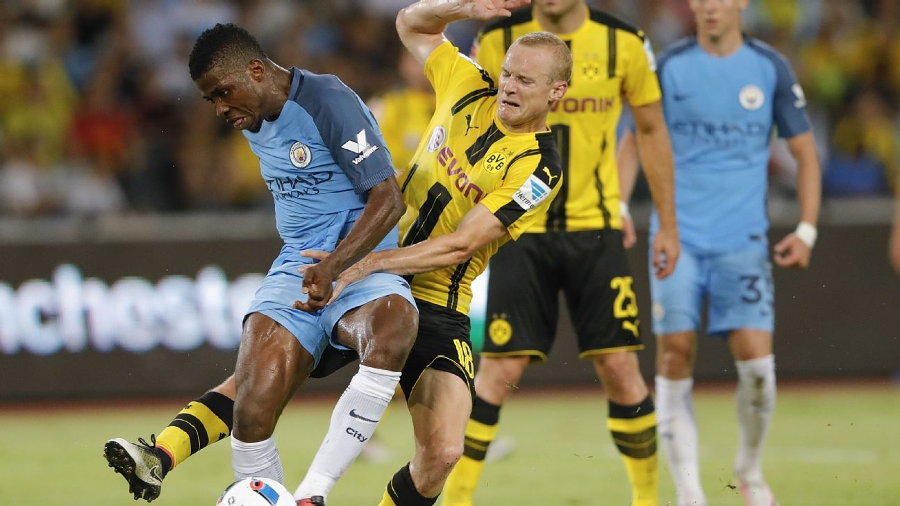 Sebastian Rode v Man City