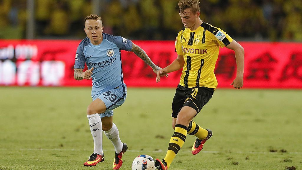 Manchester City left-back Angelino