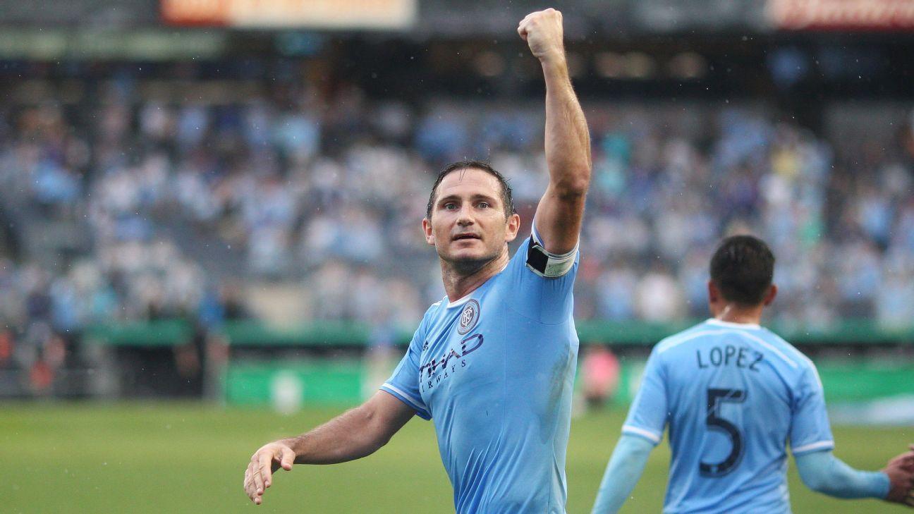Frank Lampard celeb NYCFC goal