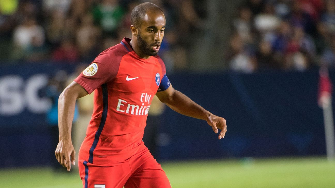 Lucas Moura And Jean-Kevin Augustin Raring To Go For PSG