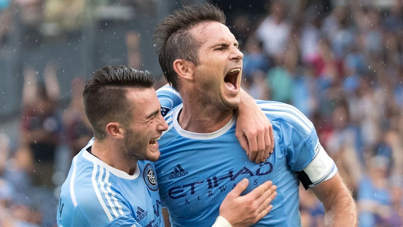 Jack Harrison and Frank Lampard