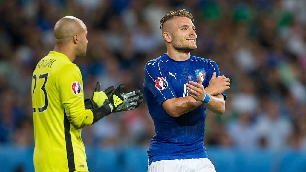 Italy striker Ciro Immobile