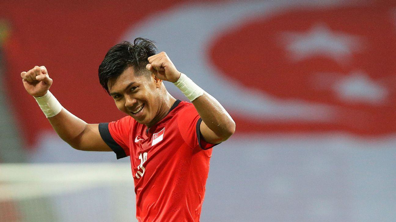 Singapore striker Khairul Amri
