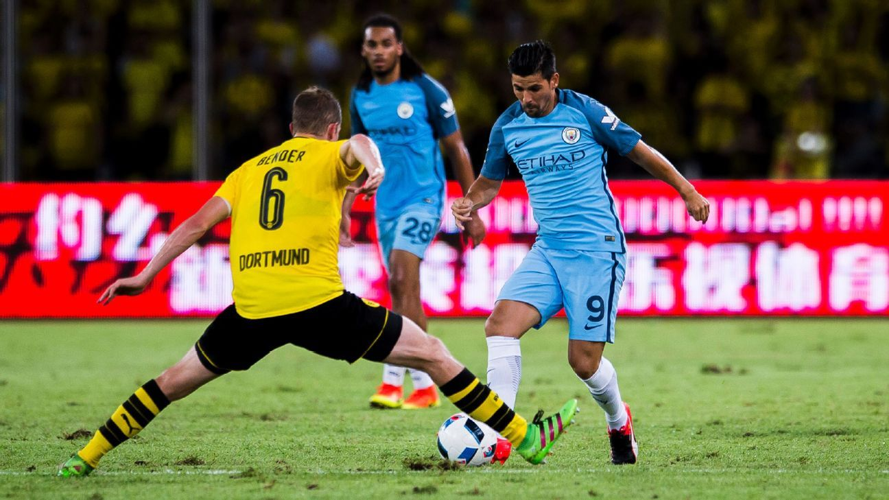Who will support Sergio Aguero Nolito to take centre stage over