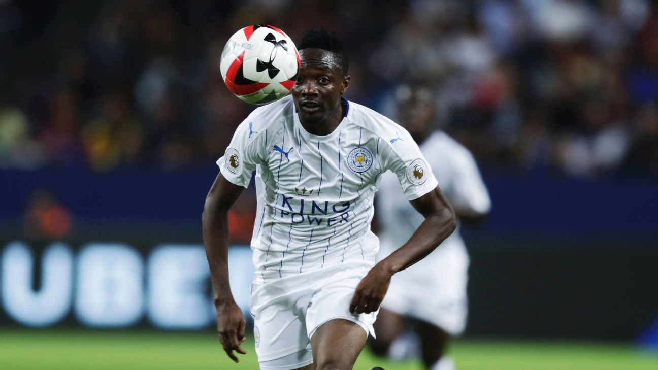 Ahmed Musa vs Barca 160803