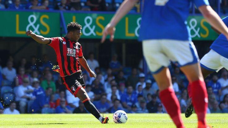 Bournemouth winger Jordan Ibe