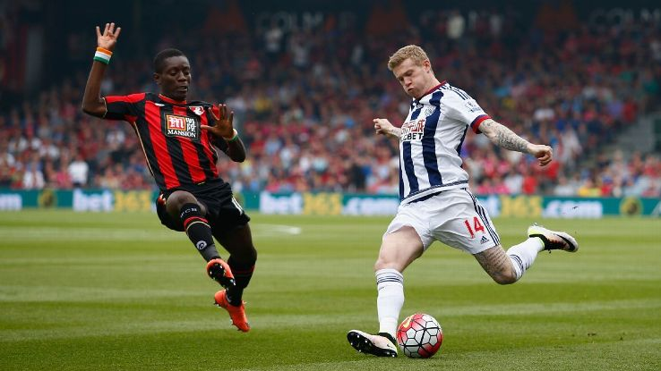 Bournemouth winger Max Gradel