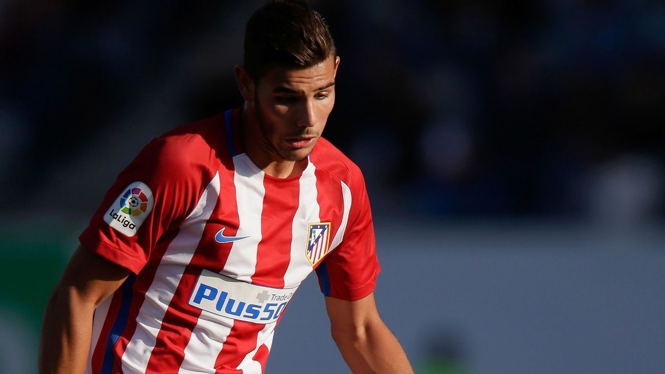 Theo Hernandez looks the more likely brother to swap Atletico Madrid for Real this summer