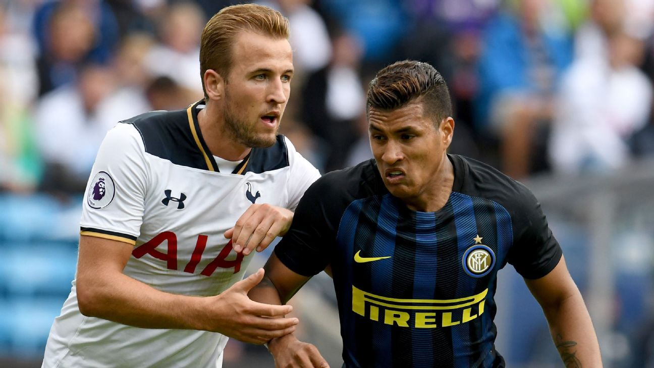 Harry Kane and Jeison Murillo