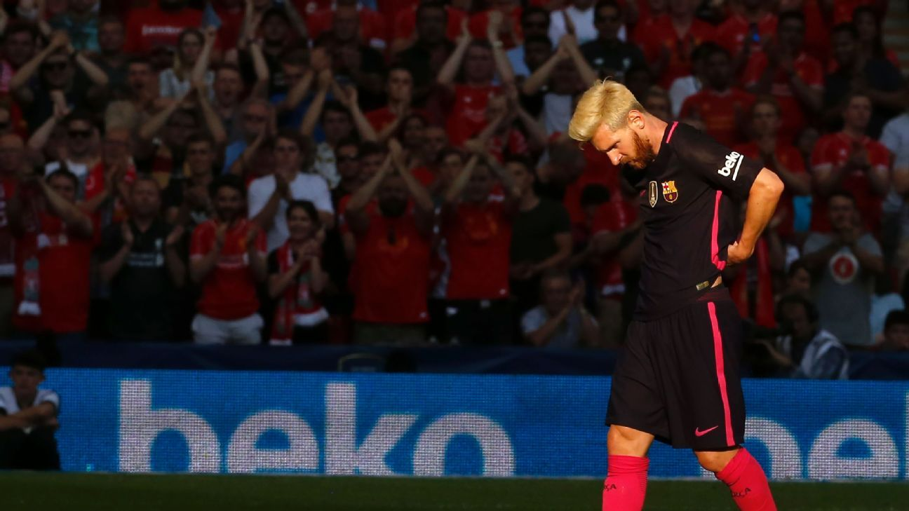 Lionel Messi and Barcelona could not find the net against Liverpool.