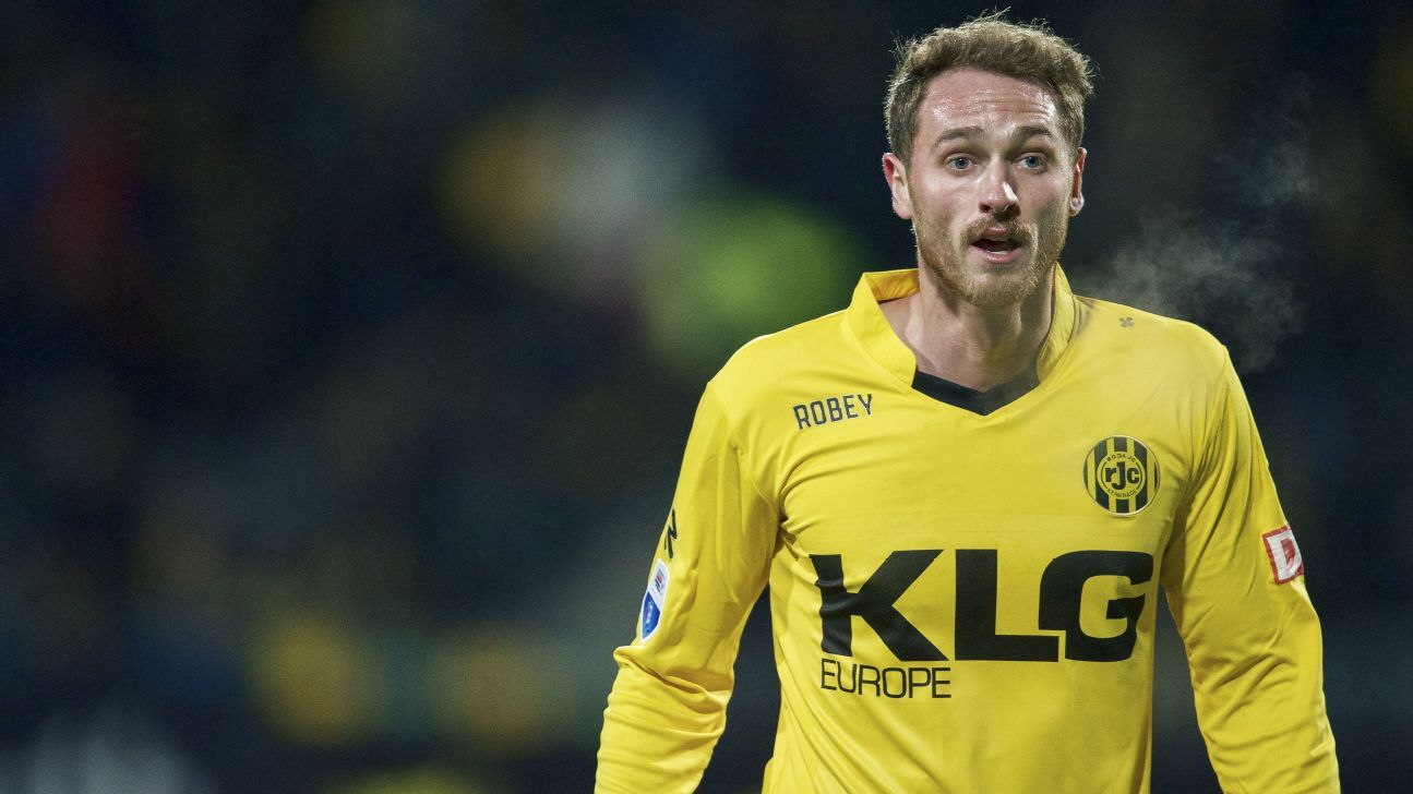 Roda JC midfielder Rostyn Griffiths