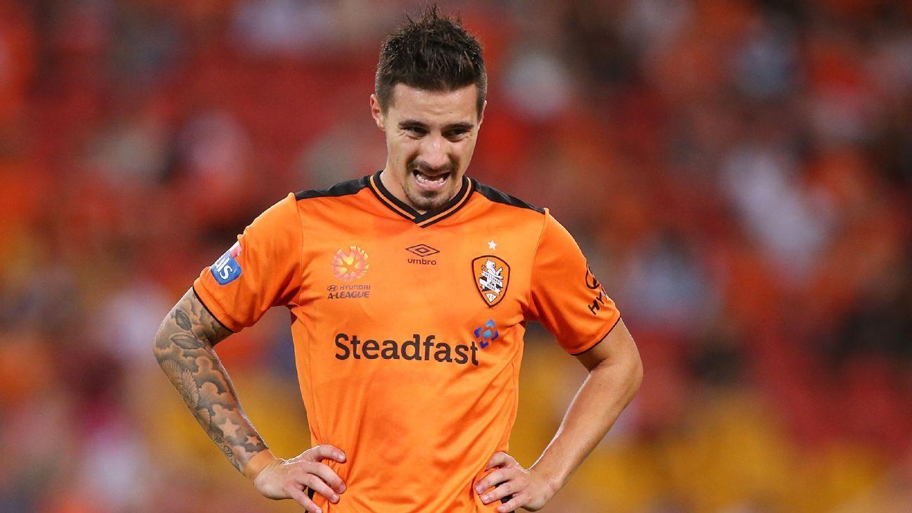 Brisbane striker Jamie Maclaren