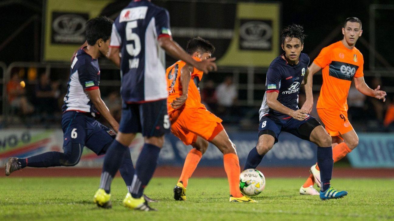 Tampines midfielder Shahdan Sulaiman