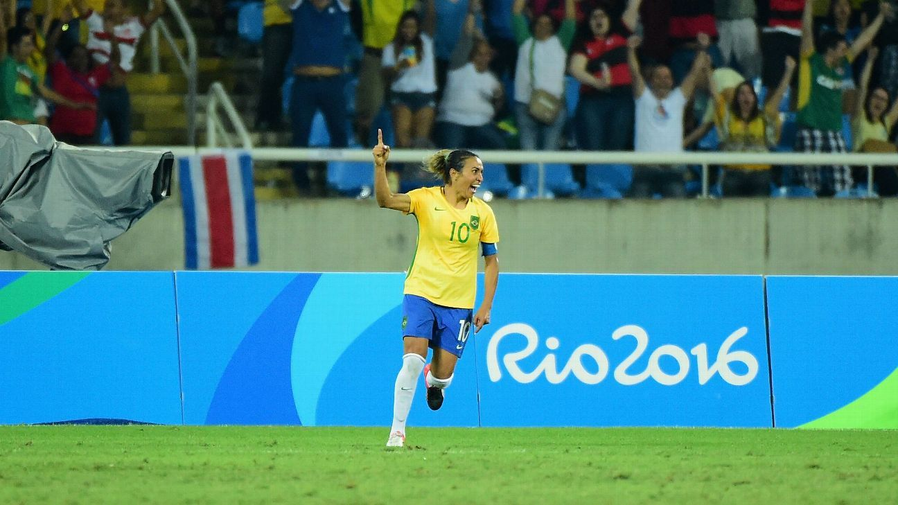 Marta vs Sweden OLY