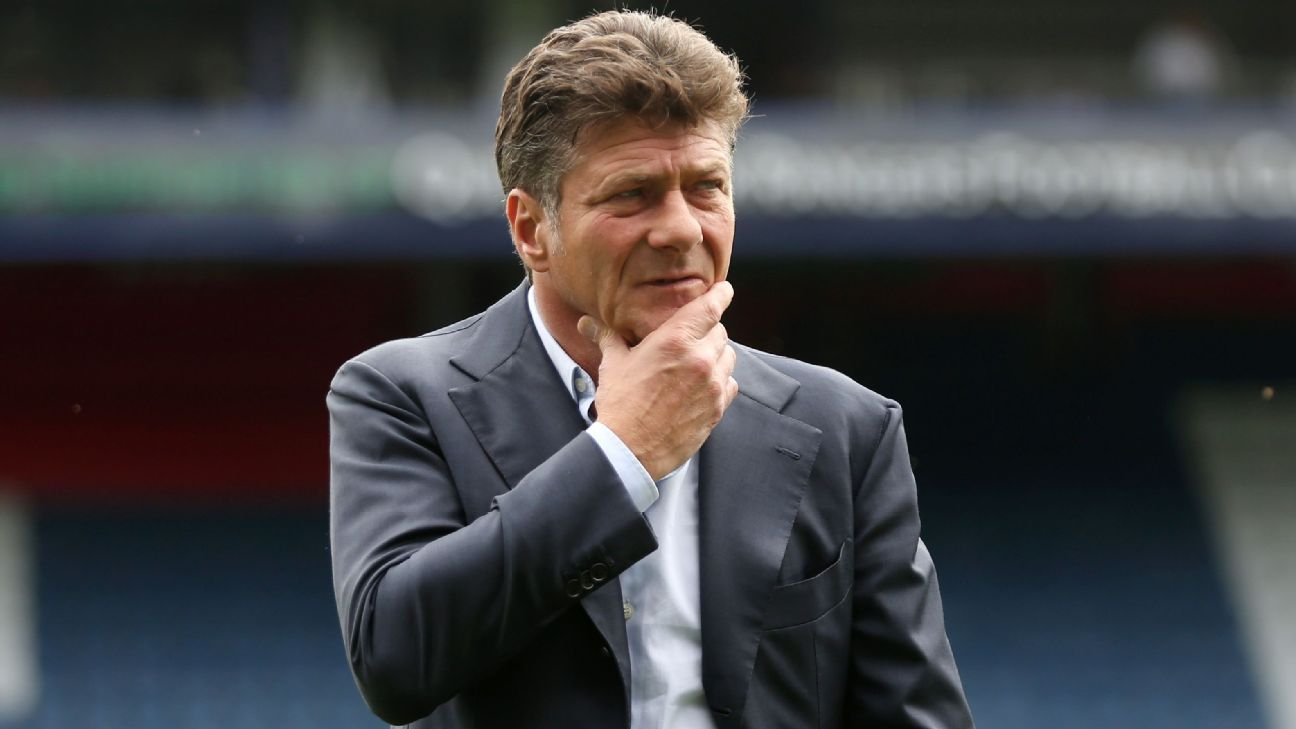 Walter Mazzarri with Watford